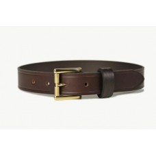 Mens Leather Belt Brown 30mm-107D
