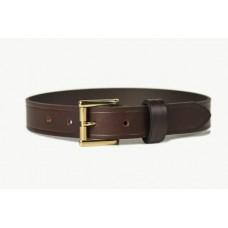 Mens Leather Belt Brown 30mm-107D