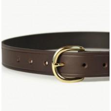 Mens Leather Belt Brown 32mm-107H