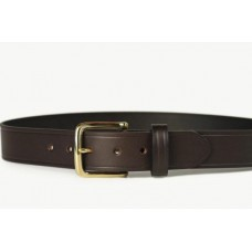 Mens Leather Belt Brown 38mm-107N