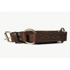 Mens Hobble/Ringer Belt With Pattern & Rings-108A